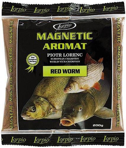 LORPIO MAGNETIC RED WORM ATTRACTOR 200g