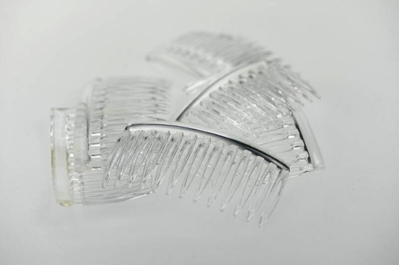 Combs - Crystal - 10 pieces