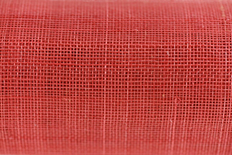 Sinamay - 056 - Coral Red