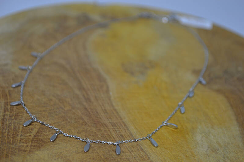 Ketting Silver Oval - By Jam Gioielli