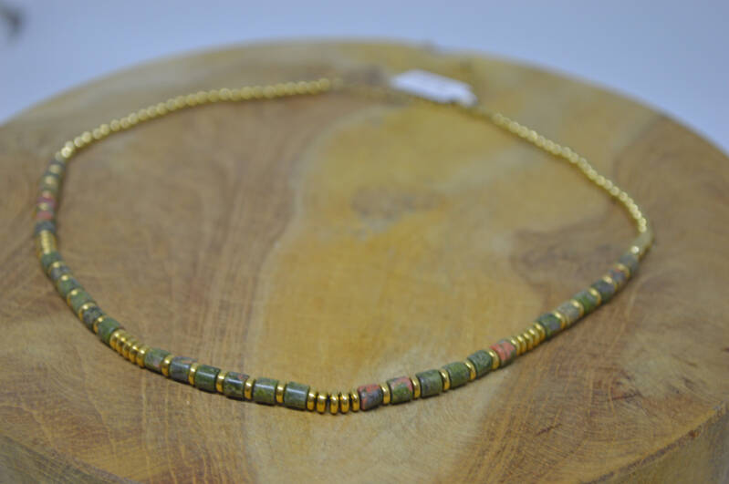 Ketting Gold Green - By Jam Gioielli