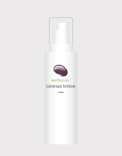 Gentian lotion