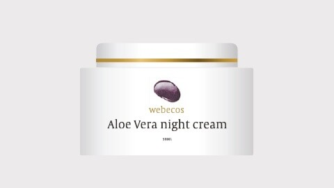 Aloë Vera night cream