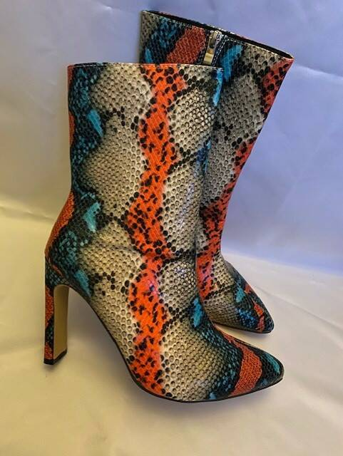 Coming soon! Snake print shoes