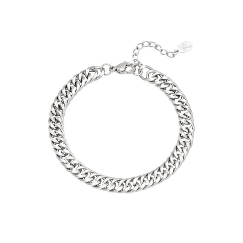 Armband vibes - zilver