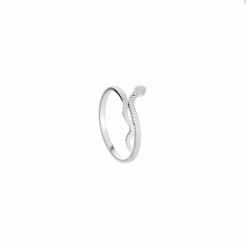 Small snake ring - zilver