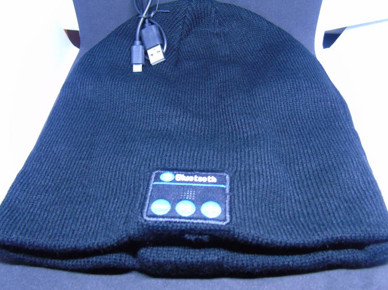Beanie met bluetooth 100% res