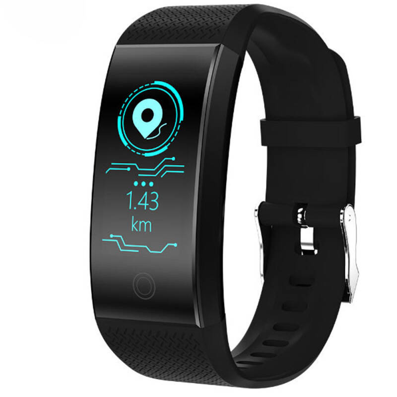 Smart band QW18 ( zwart ) 100% res