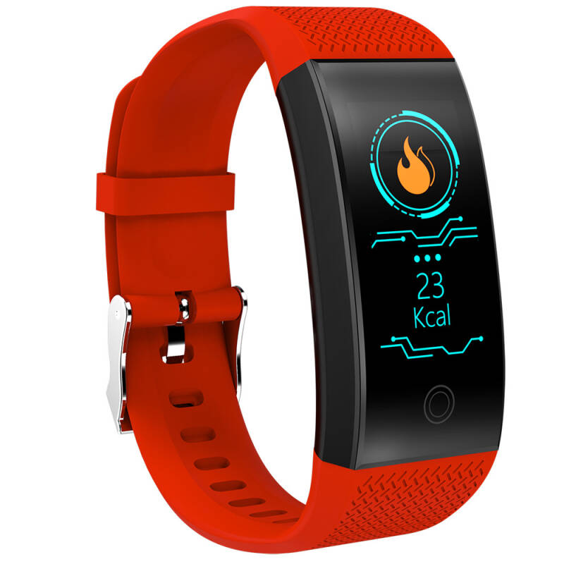 Smart band QW18 ( rood ) 100% res