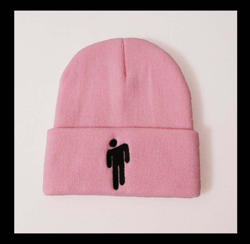 Billie Eilish rose beanie