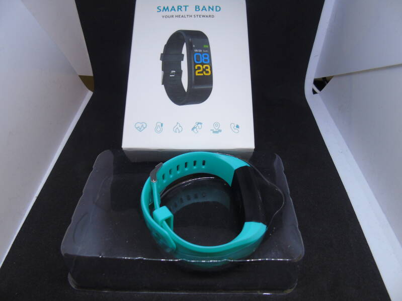 Smart band IP115 licht blauw 100% RES
