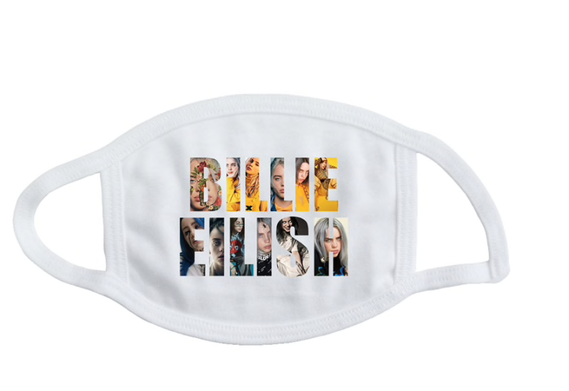 Billie Eilish mondmasker