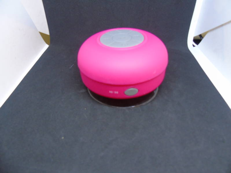 Waterdichte bluetooth speaker Pink 100% RES