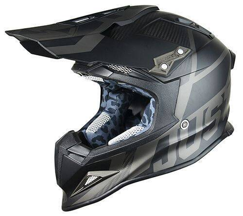 JUST1 Helmet J12 Unit Black 54-XS