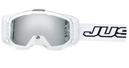 JUST1 Goggle Iris Solid White