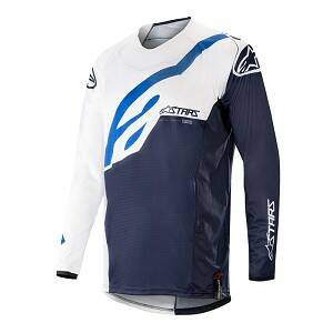 ALPINESTARS Techstar Factory Jersey WHITE / DARK NAVY