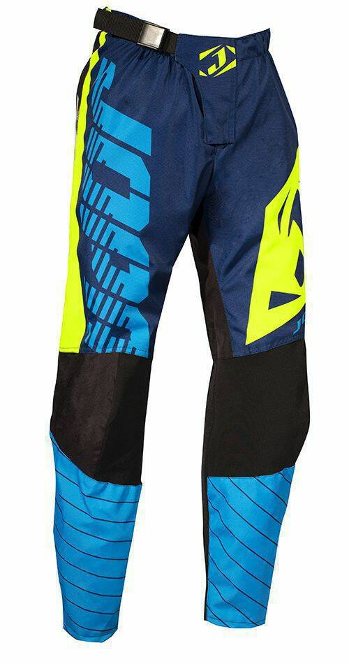 Jopa MX-Pants 2018 Sonic Blue-Neon Yellow