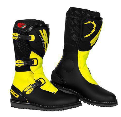 Sidi Trial Zero Repl. Raga Black-Yellow