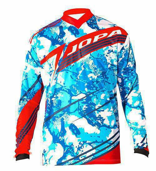 Jopa MX-Jersey 2018 Fixion Light Blue-Red