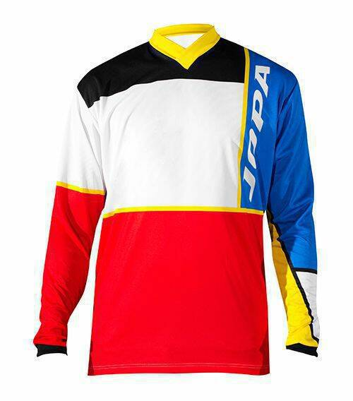 Jopa MX-Jersey 2018 Q-Bix Blue-Red