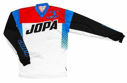 Jopa MX-Jersey 2019 Looper White-Red-Blue