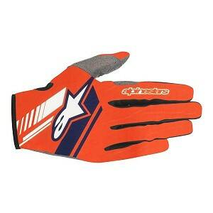 ALPINESTARS NEO Gloves ORANGE FLUO/DARK BLUE