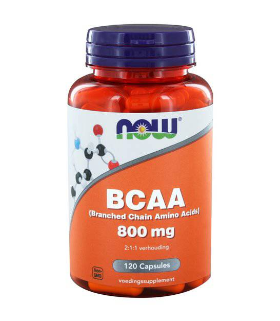 NOW  Vitamins - BCAA 800 mg