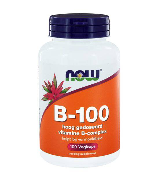NOW  Vitamins - B-100 vitamine B comple