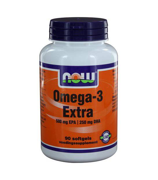 NOW  Vitamins - Omega-3 Extra 500 mg EPA 250 mg DHA