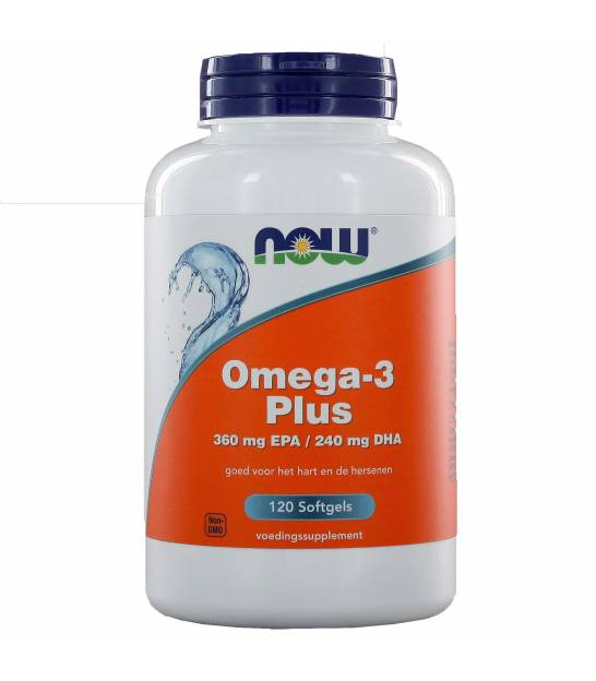 NOW  Vitamins - Omega-3 Plus 360 mg EPA 240 mg DHA