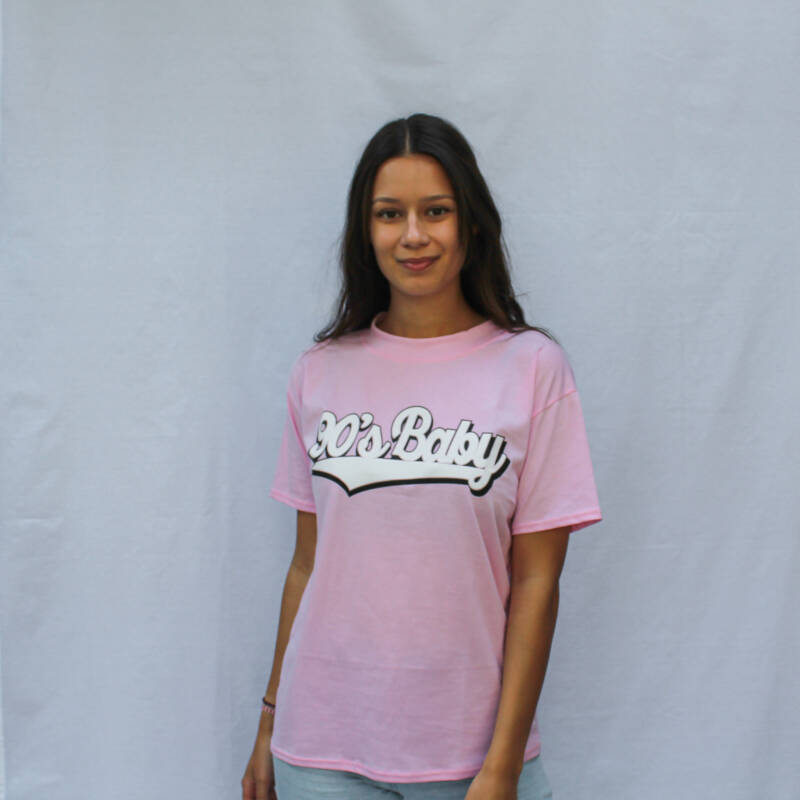 90'S BABY TEE - PINK