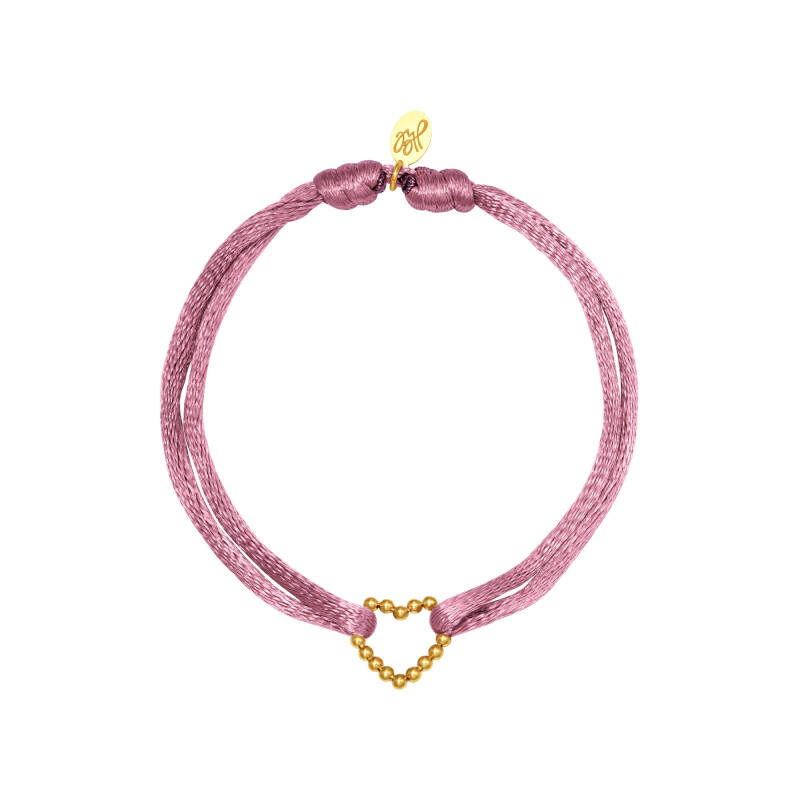 HEART BRACELET - PURPLE