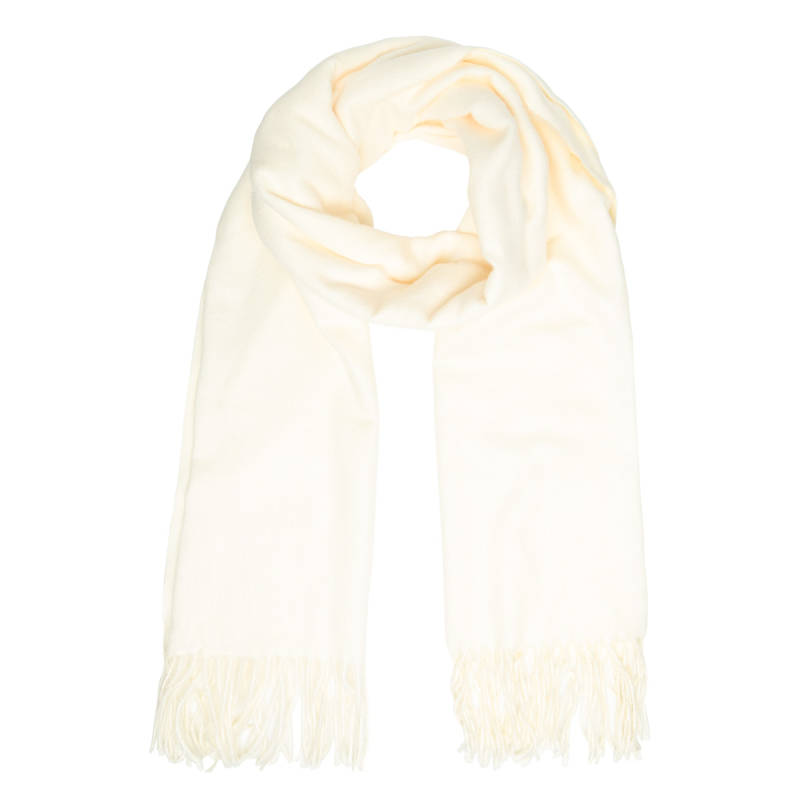 LUCY SCARF - WHITE