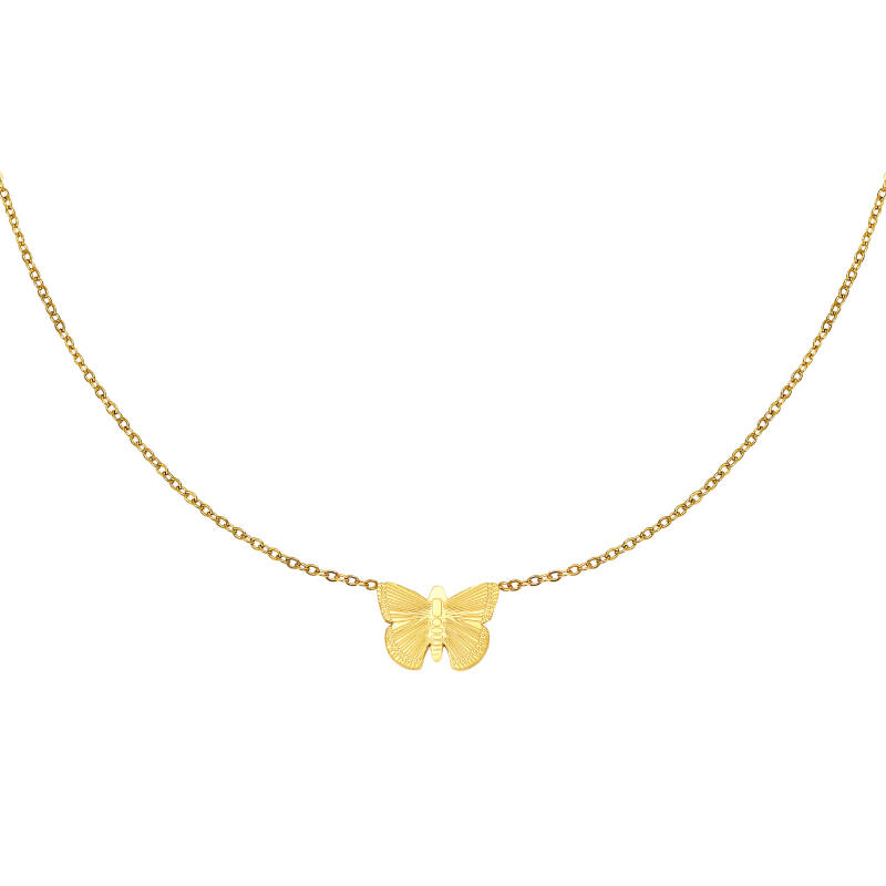 NECKLACE BUTTERFLY - GOLD
