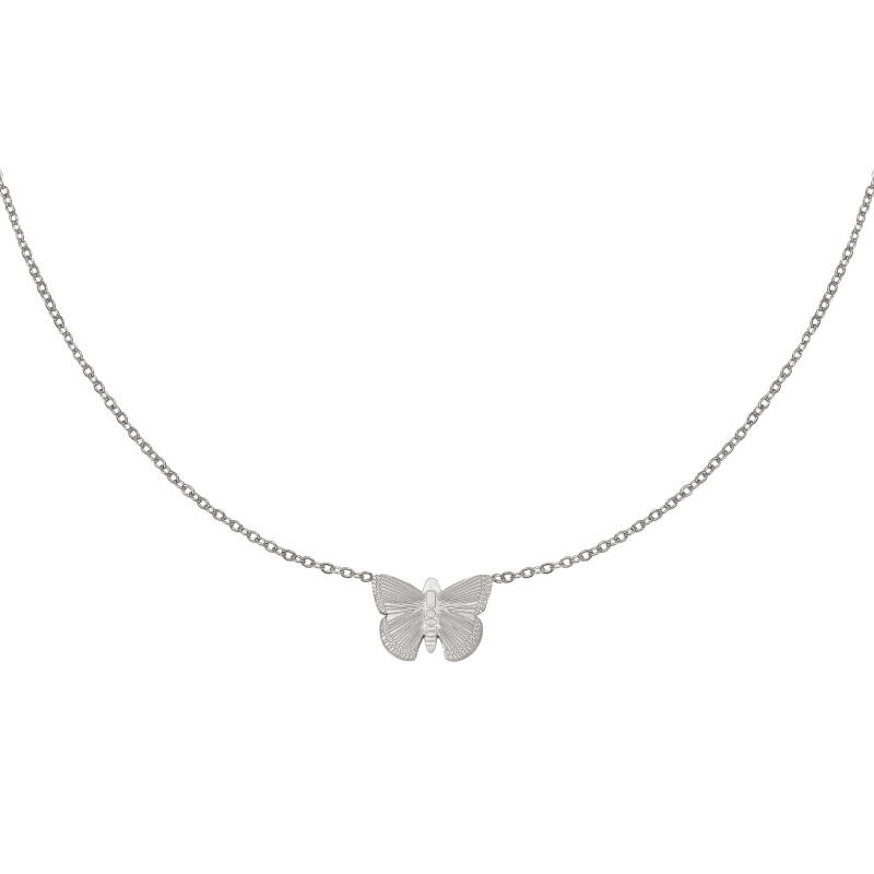 NECKLACE BUTTERFLY - SILVER