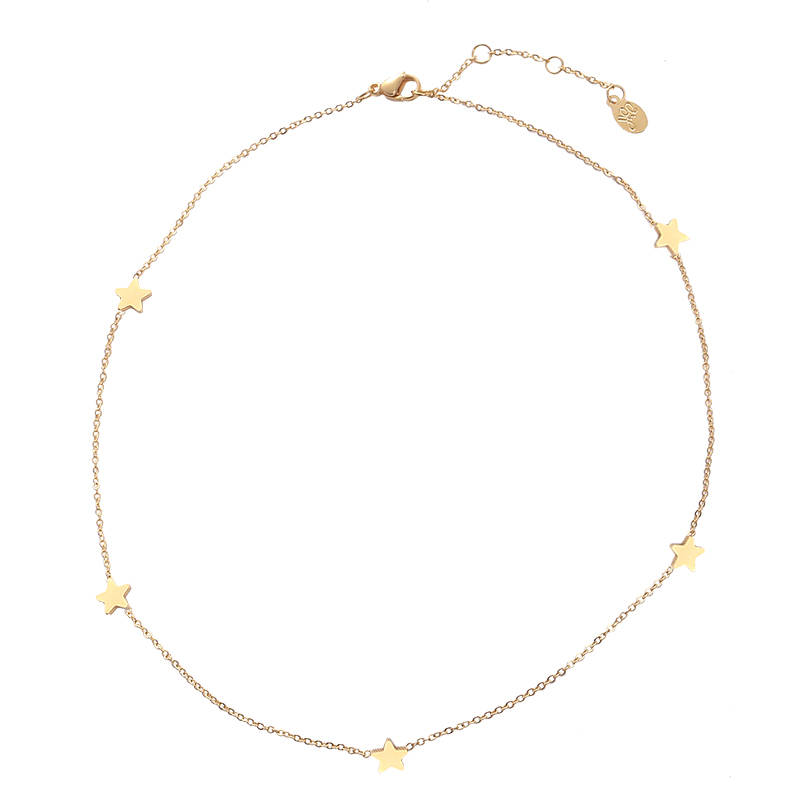 NECKLACE STARS - GOLD