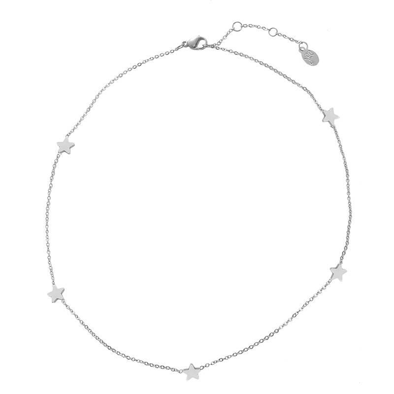 NECKLACE STARS - SILVER