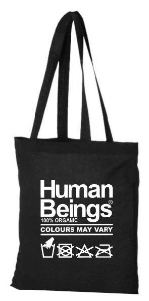 Tote bag Human Beings