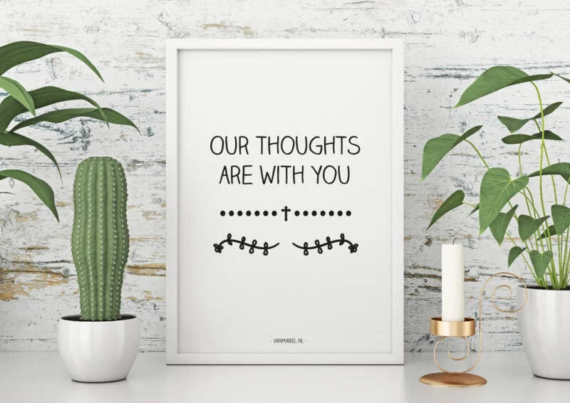 Kaart | Thoughts with you