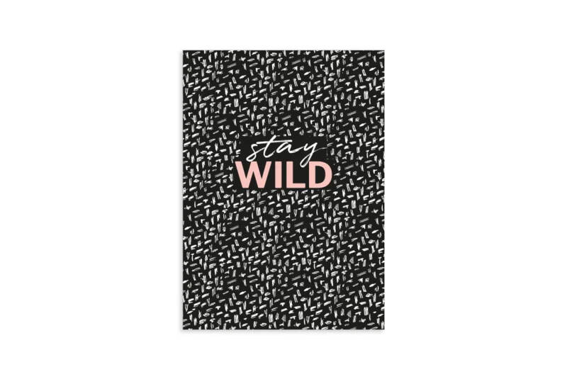 Schriftje dots | Stay Wild