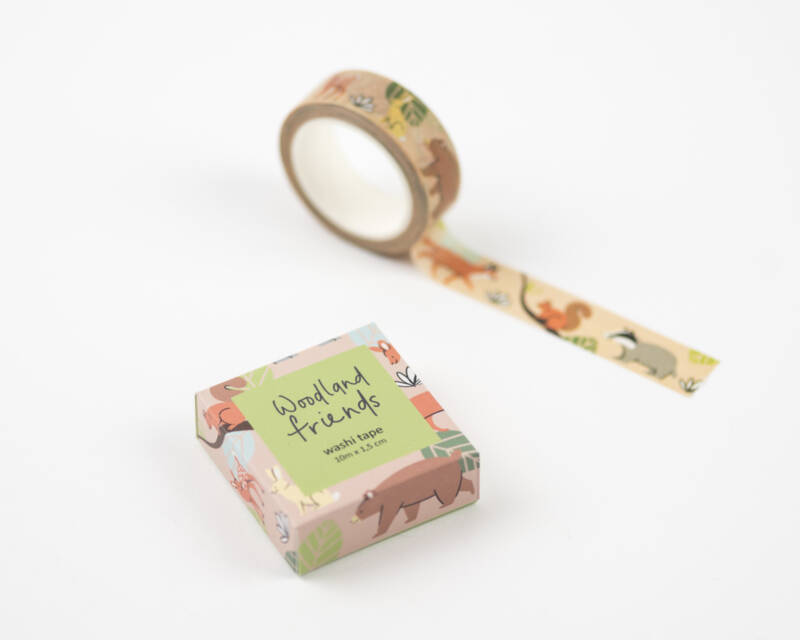 Washi tape | Woodland friends