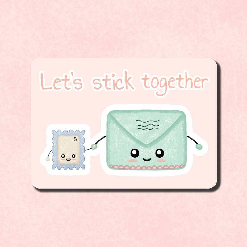 Minikaartje | Let's stick together