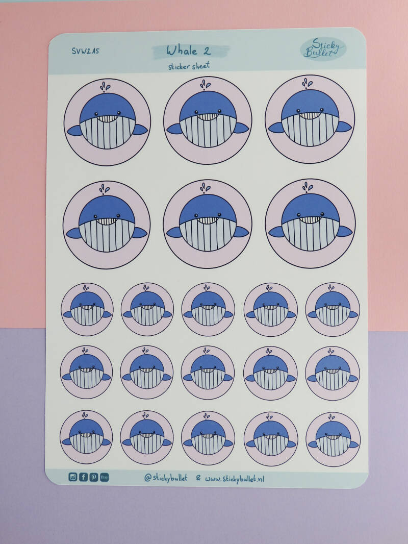 Stickers | Whale 2