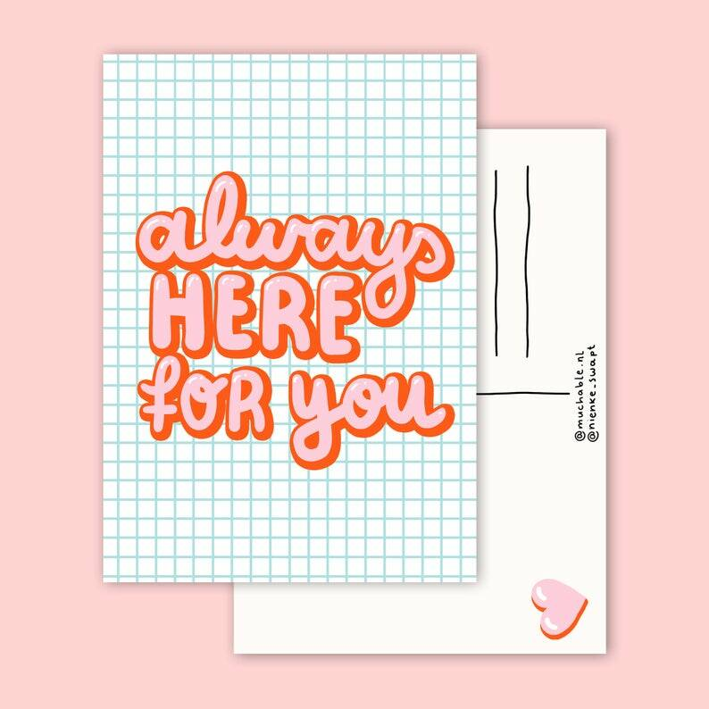 Kaart | Always here for you