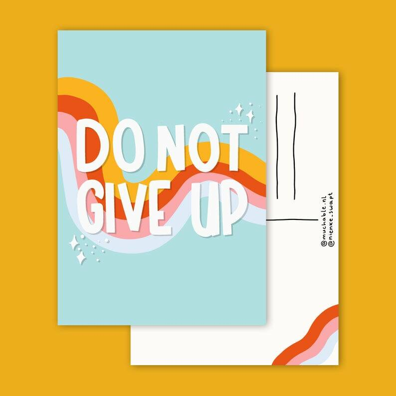 Kaart | Do not give up