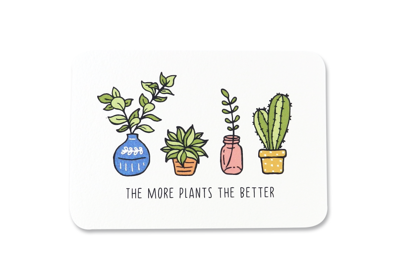 Kaart | The more plants the better