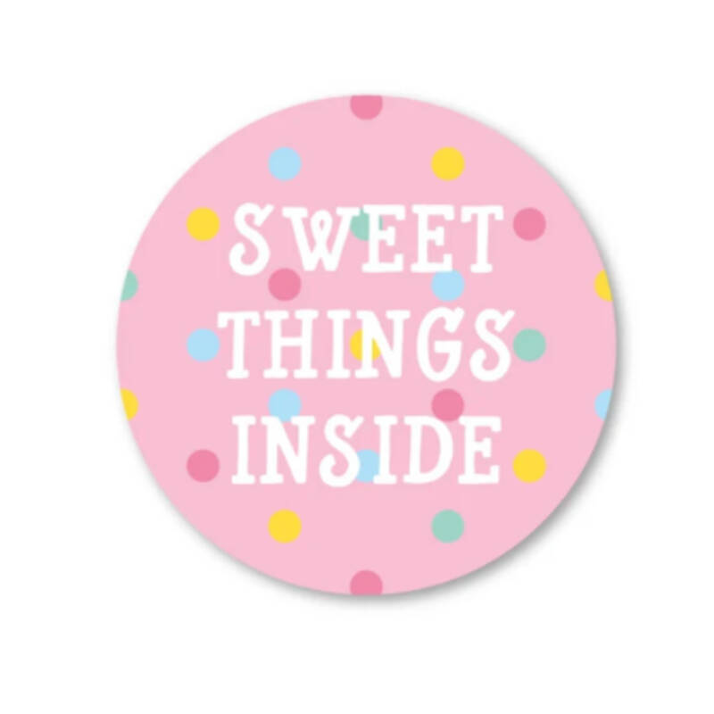 Sluitsticker | Sweet things