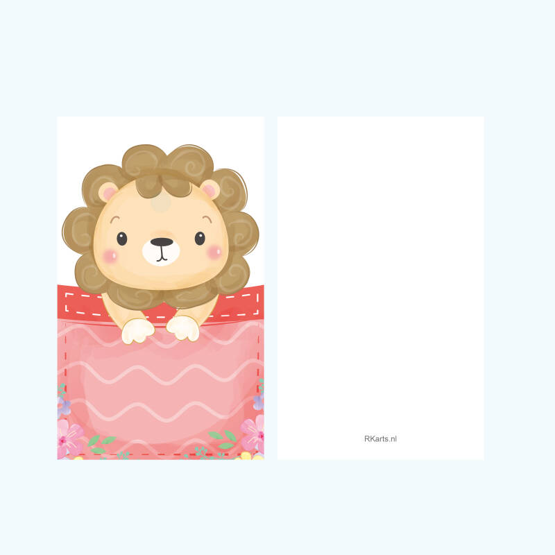 Minikaartje | Pocket Lion