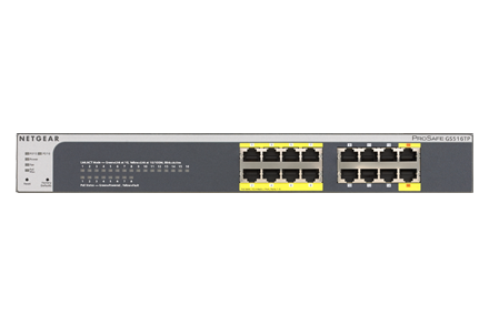 Netgear Managed Gigabit Switch (GSxxxT & GSxxxTP)
