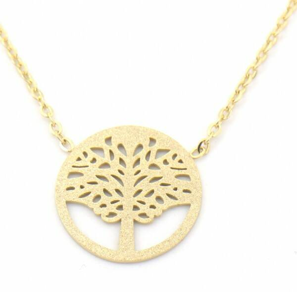 Ketting Tree Of Life - Goud